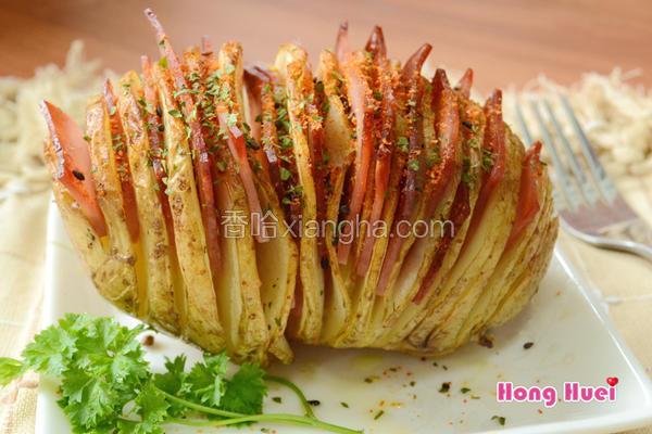 薄切火腿马铃薯
