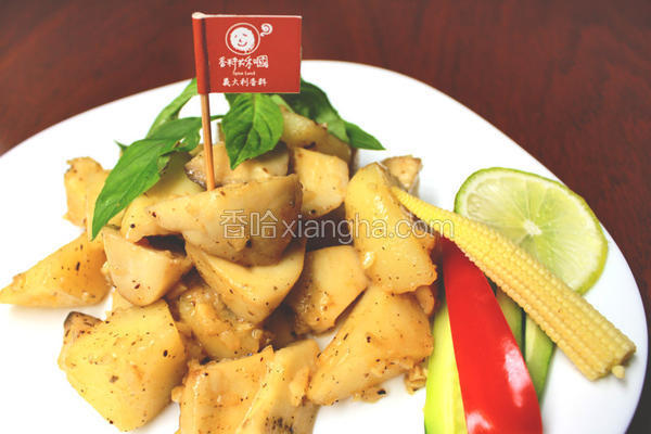 意式蒜香洋芋菇