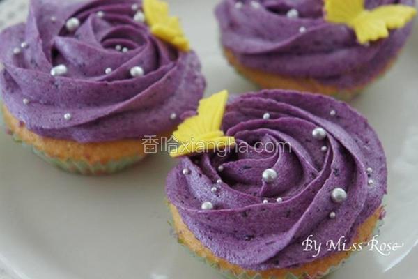 紫薯杯子蛋糕