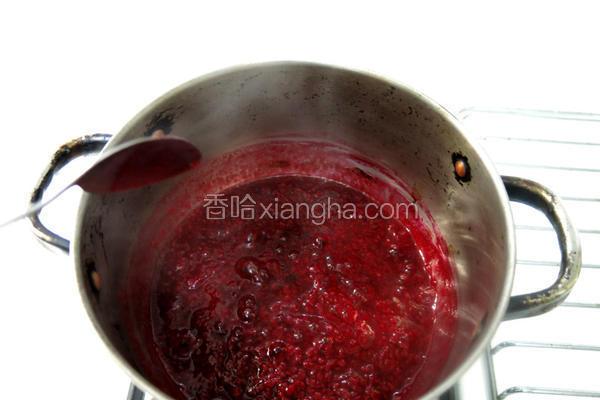 覆盆莓果酱