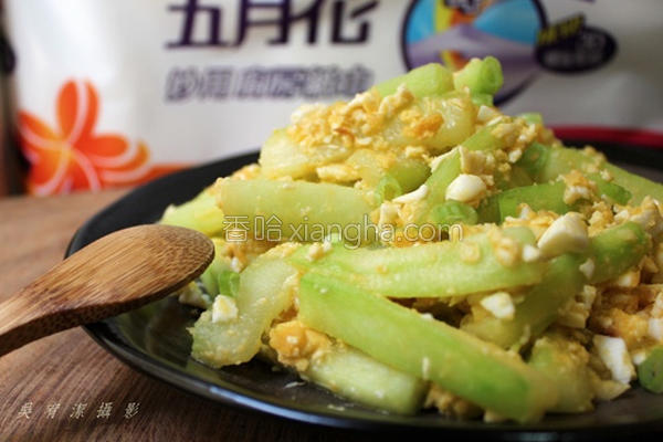 咸蛋炒黄瓜的做法