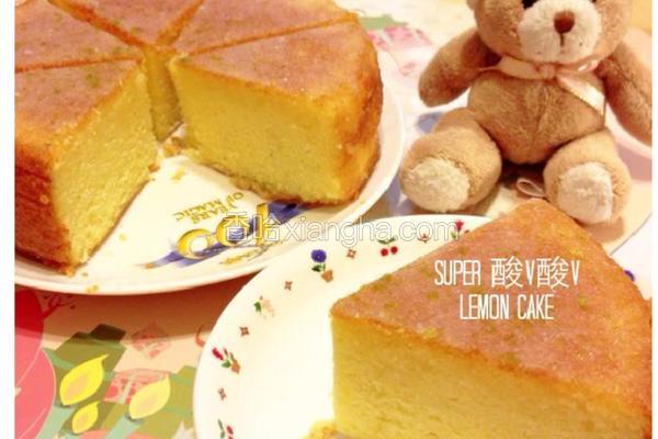 酸V森D柠檬蛋糕