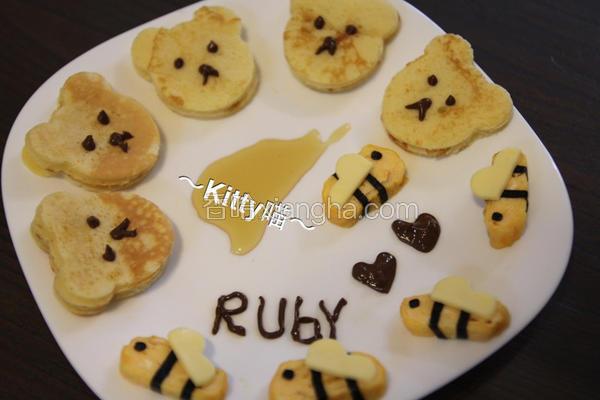 小蜜蜂松饼餐