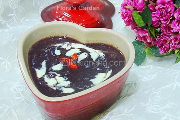 银耳红豆紫米饮