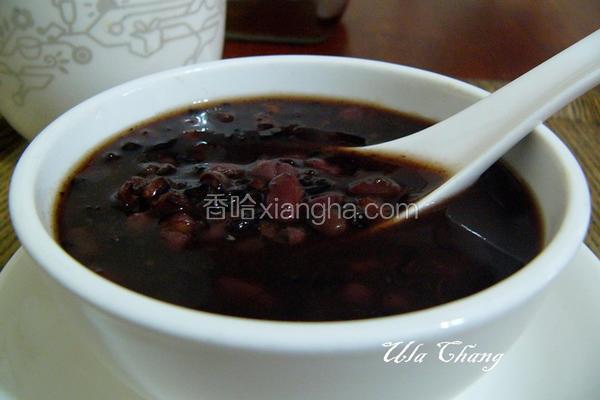 紫米红豆汤