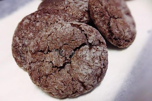 香浓巧克力脆饼