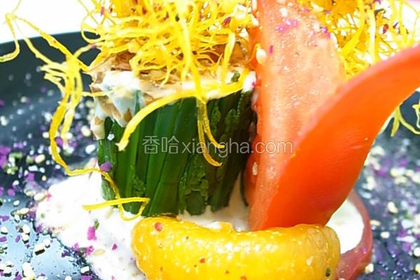 小磨坊缤纷蕨菜卷