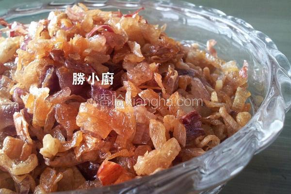 油葱酥&卤大白菜