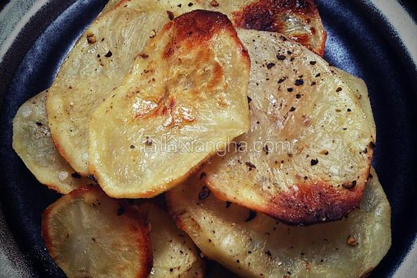 烤马铃薯片
