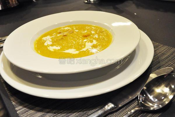 法式南瓜汤
