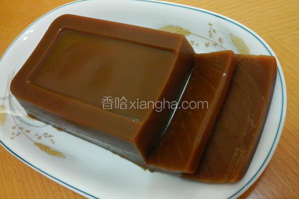 姜汁黑糖年糕