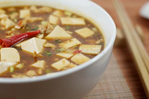 辣料理.麻婆豆腐