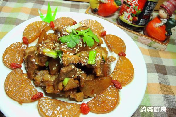 红烧萝卜炖肉