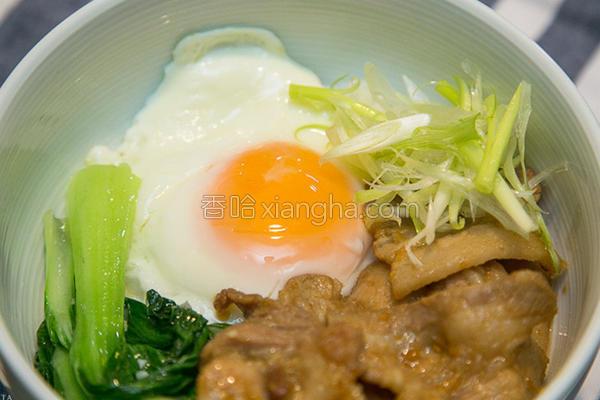 日式烧肉盖饭