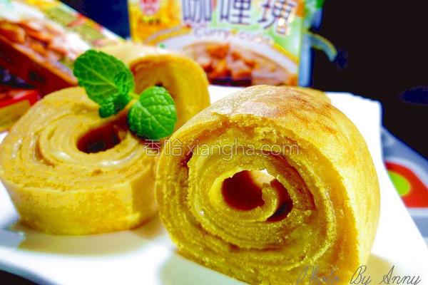 乳酪咖哩年轮松饼