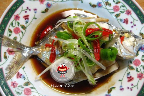 蚝油蒸青鳞鱼