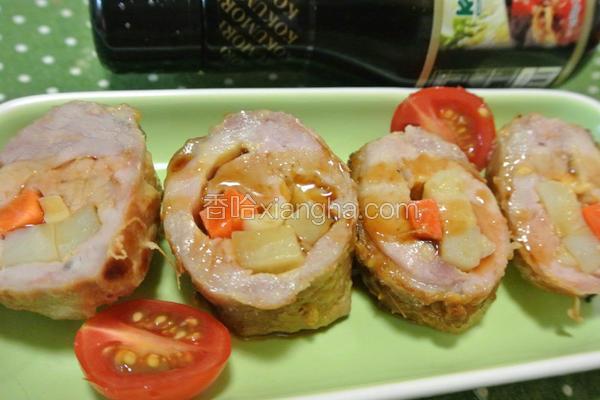寿喜烧酱烤猪肉卷