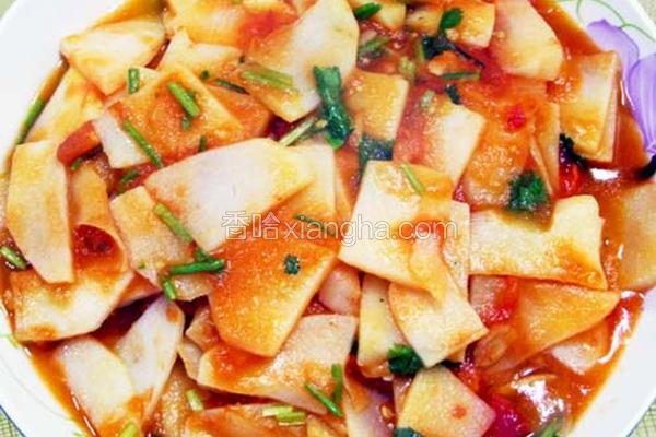 番茄炒马铃薯
