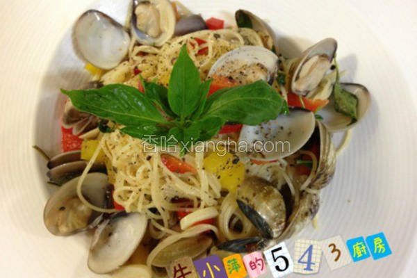 白酒蛤蜊意大利面
