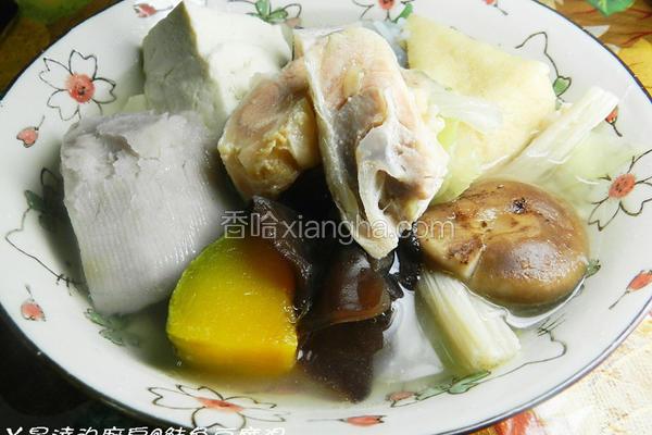 鲑鱼豆腐汤