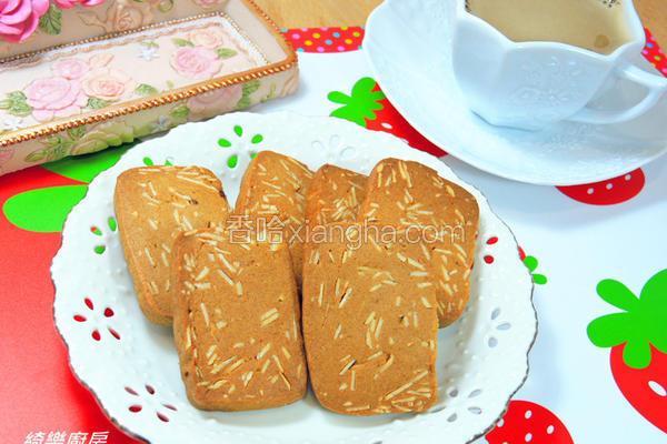 黑糖杏仁饼