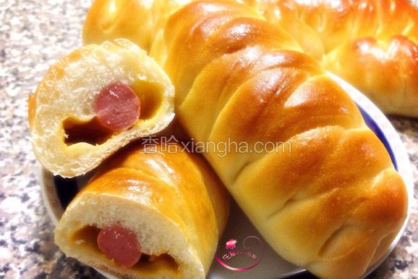热狗起司面包