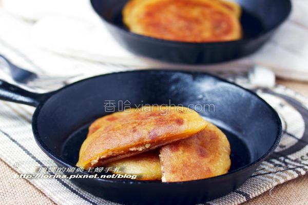 黑糖地瓜煎饼