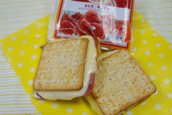 饼干三明治