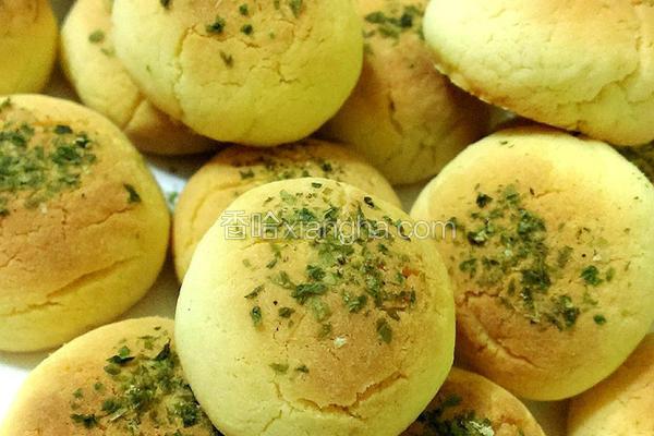 海苔奶酥饼