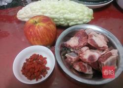 做法苦瓜排骨汤烤肉松酥条的苹果图片