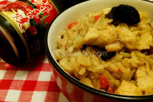 香菇鸡炊饭