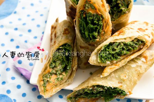 桂冠蔬菜葱油卷饼