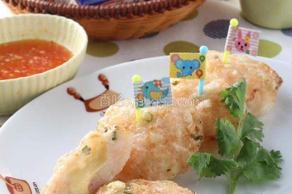 芝司乐虾饼