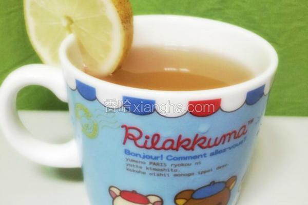 香水柠檬蜂蜜茶