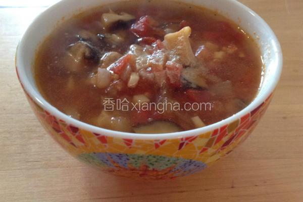 超番茄香菇汤