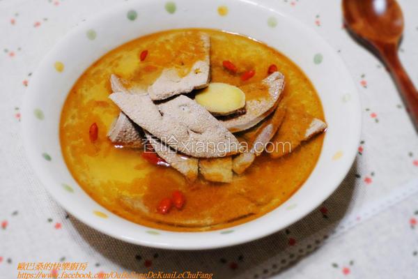 麻油猪肝汤