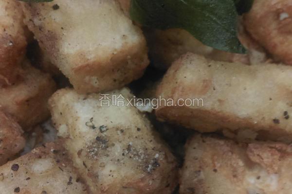 塔香炸豆腐