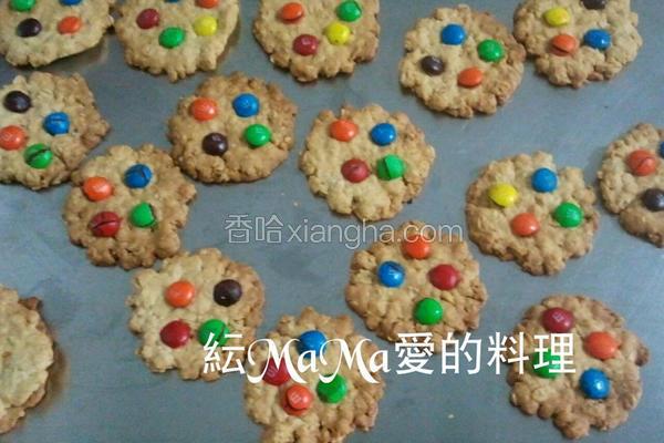 M&M燕麦饼干
