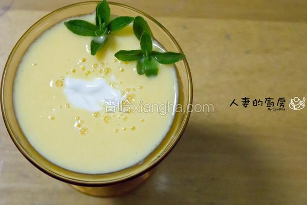 芒果优酪乳冰沙