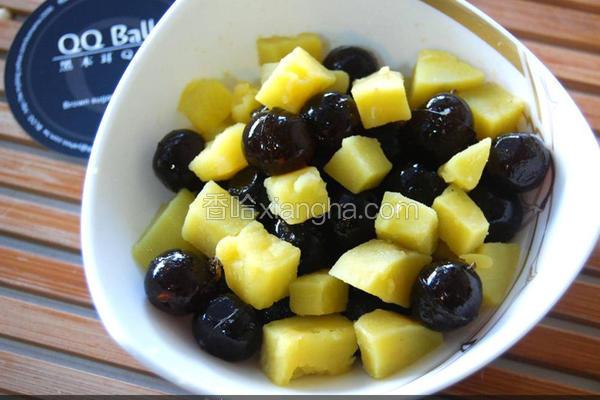 黑Q地瓜甜点