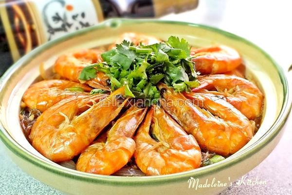 鲜虾粉丝煲