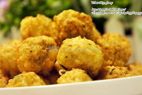 魔芋豆腐虾球