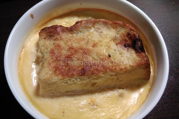 豆浆布丁吐司