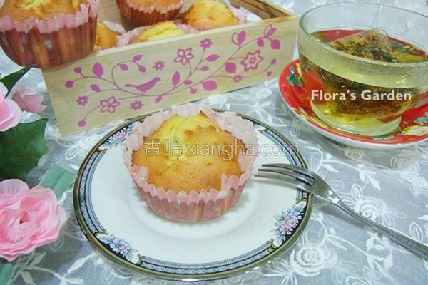 蜂蜜杯子蛋糕的做法