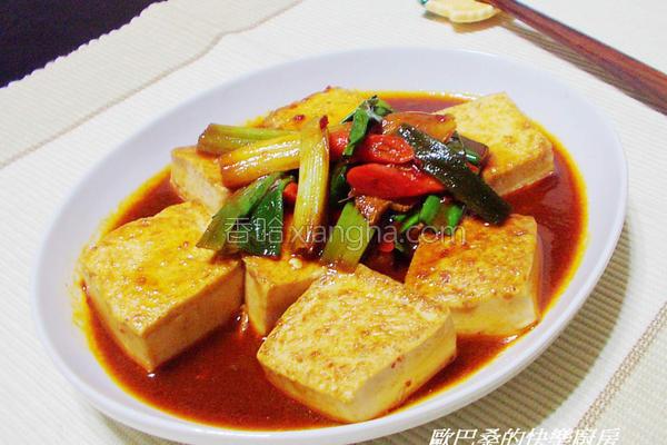 韩式辣味噌豆腐烧