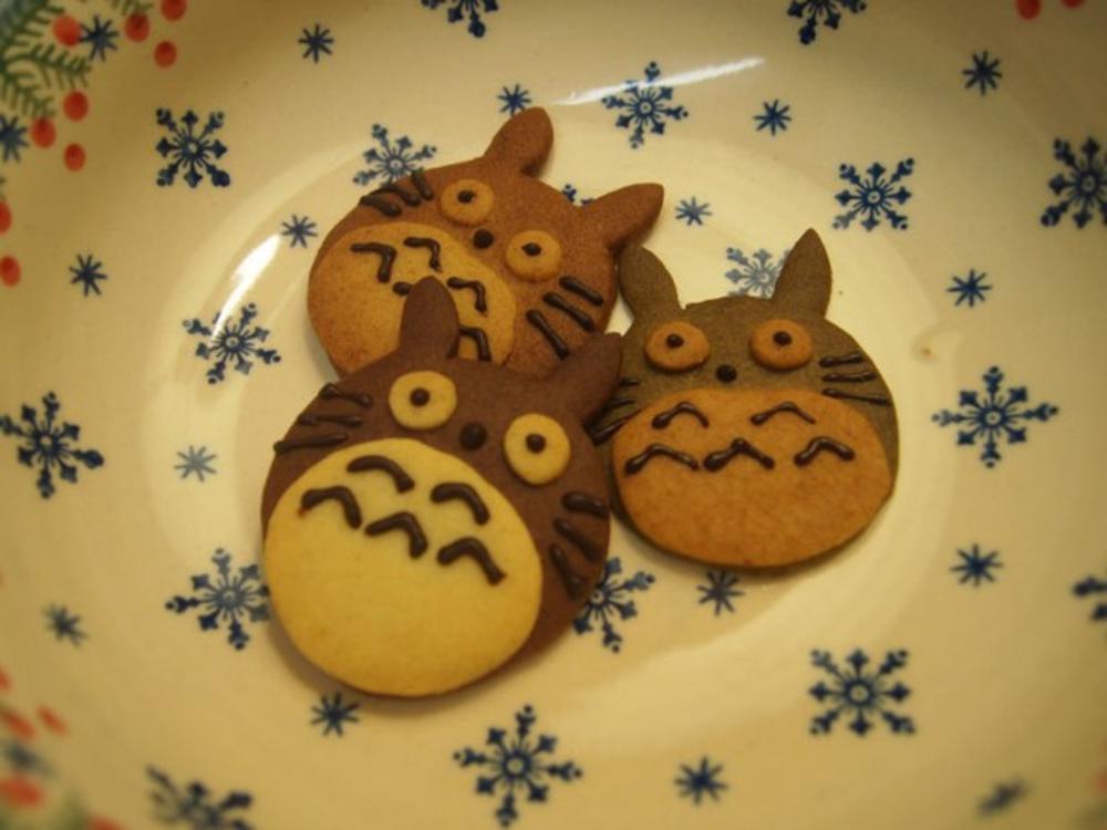 圆圆的饼干简笔画