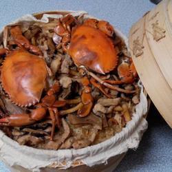 锯缘青蟹油饭的做法[图]