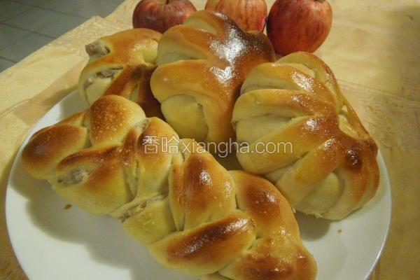 香浓芋泥面包
