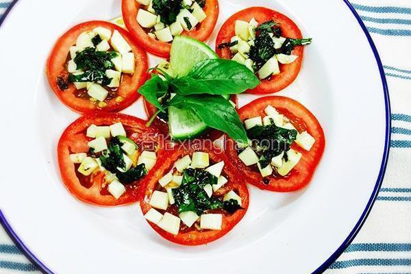 意式番茄乳酪拼盘