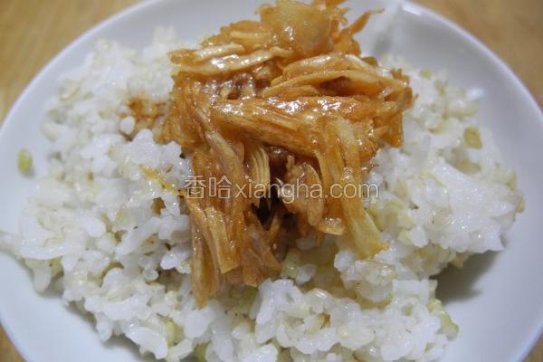 鹅油金葱拌饭